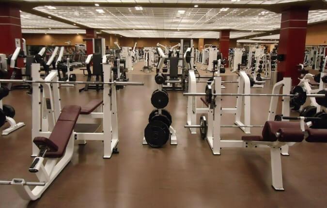 inside of a Gymnasium